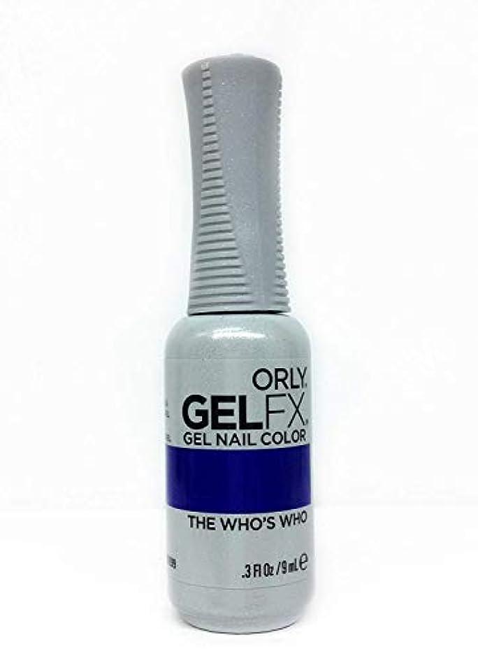 予知代表汗Orly GelFX Gel Polish - The Who's Who - 0.3oz / 9ml