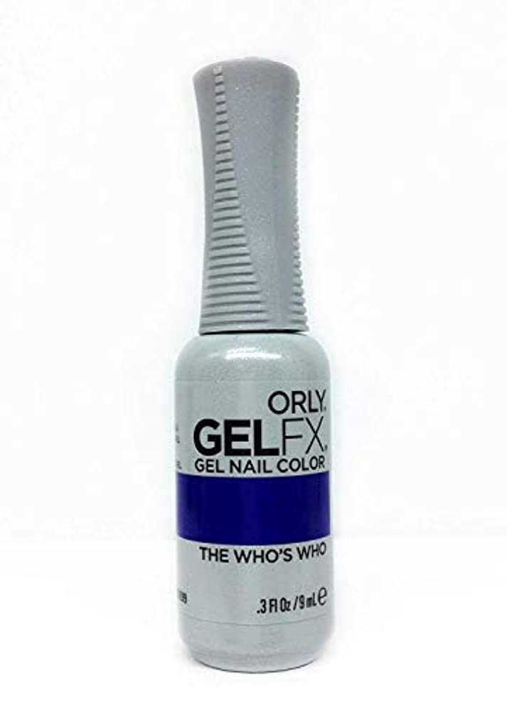 本物再生的内側Orly GelFX Gel Polish - The Who's Who - 0.3oz / 9ml