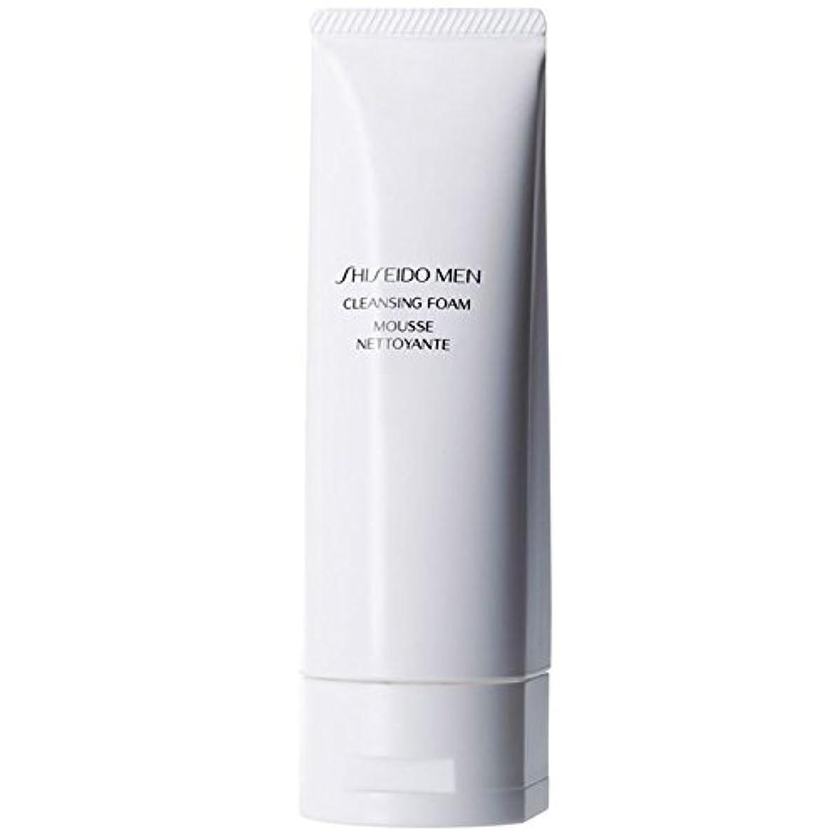 枝オレンジ縮れた[Shiseido] 泡125ミリリットルをクレンジング資生堂の男性 - Shiseido Men Cleansing Foam 125ml [並行輸入品]