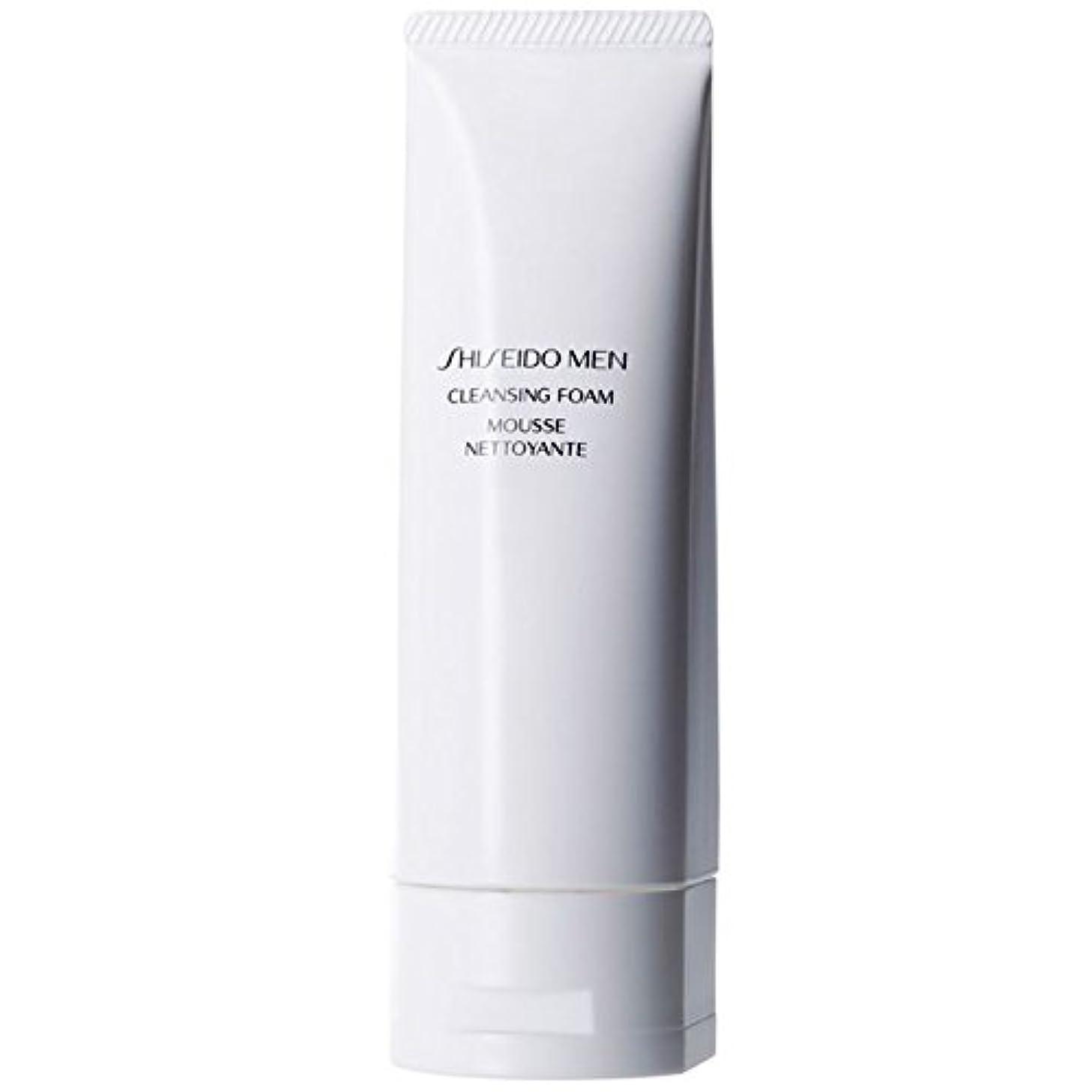 ひそかに失礼な計り知れない[Shiseido] 泡125ミリリットルをクレンジング資生堂の男性 - Shiseido Men Cleansing Foam 125ml [並行輸入品]