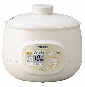 象印 マイコンおかゆメーカー 茶わん5杯分 EG-DA02-WB ホワイト (pack 2)