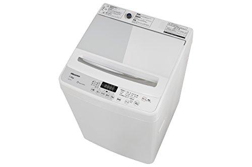 ハイセンス 7.5kg 最短10分で洗濯できる 全自動洗濯機...