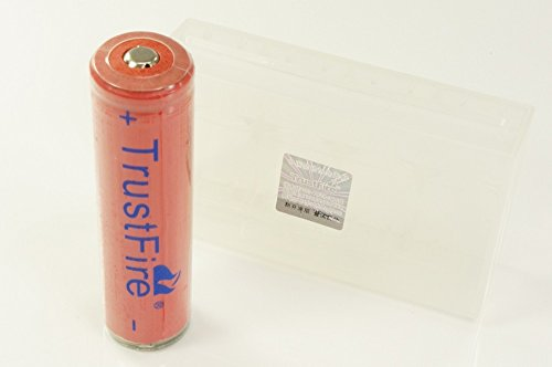 【 SANYOセル搭載 18650 1本付属】 TrustFire 電池ケース...