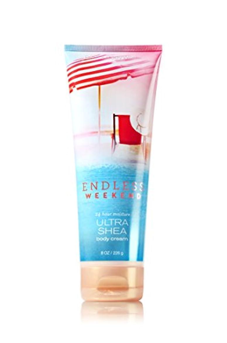 取る病的原告【Bath&Body Works/バス&ボディワークス】 ボディクリーム エンドレスウィークエンド Ultra Shea Body Cream Endless Weekend 8 oz / 226 g [並行輸入品]