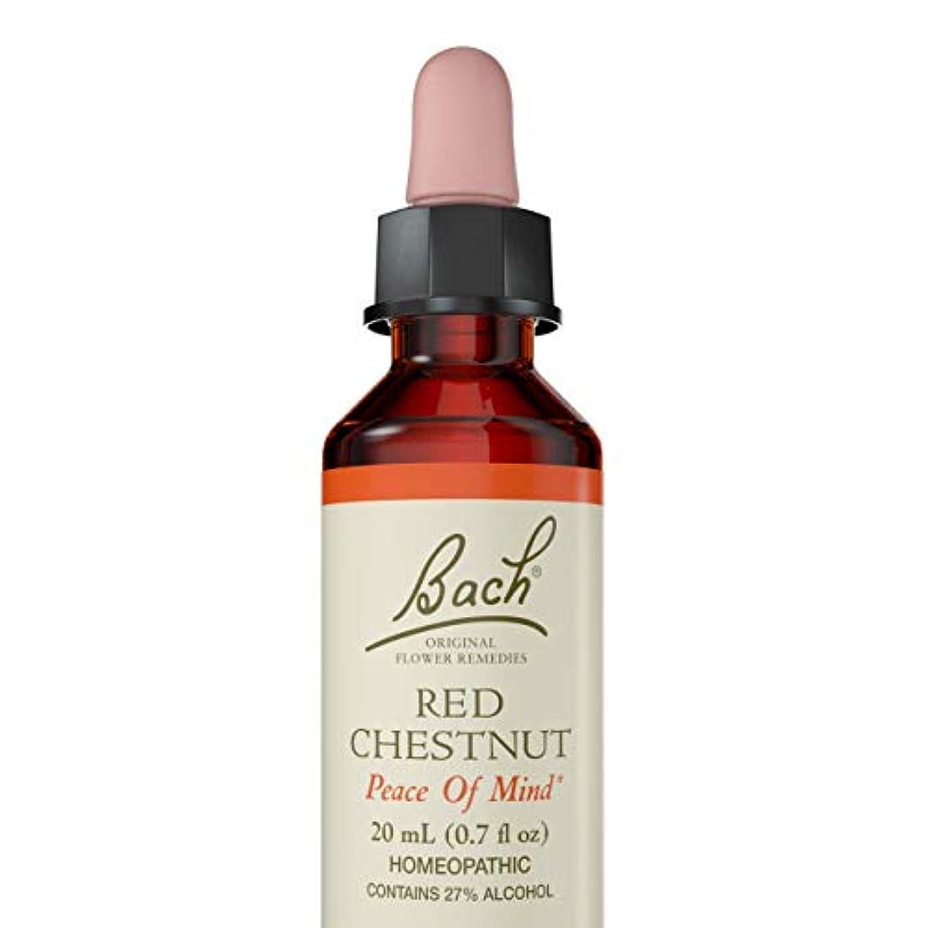 ベッド強打おかしい海外直送品 Bach Flower Essences Flower Essence Red Chestnut, 20 ML