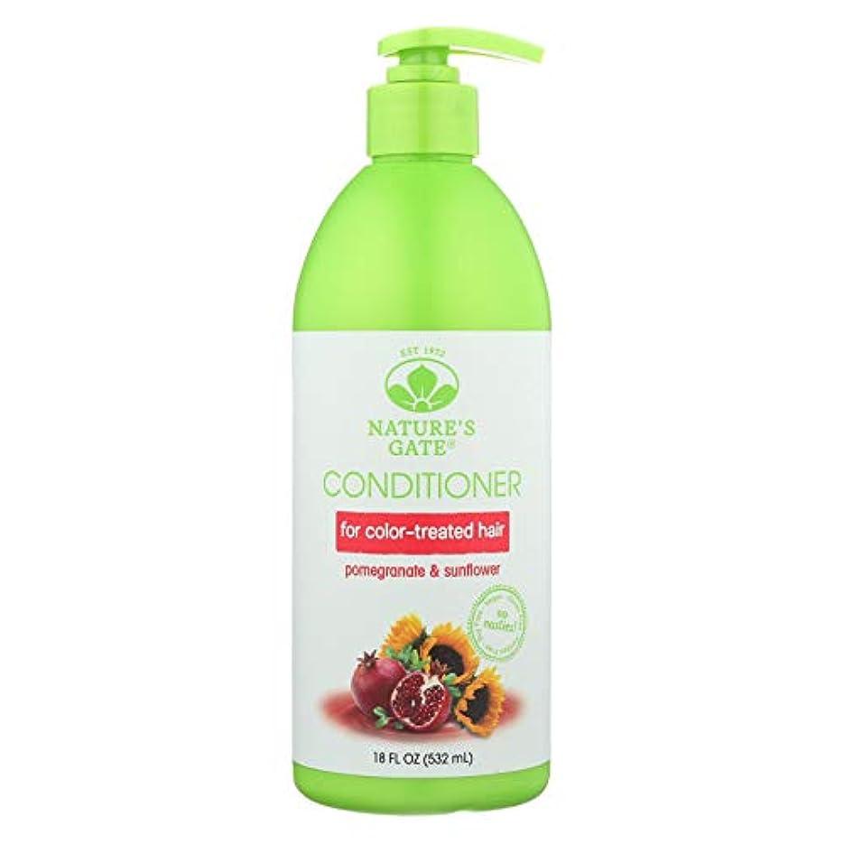 倉庫連帯健全Nature's Gate, Conditioner, Hair Defense, Pomegranate Sunflower, 18 fl oz (532 ml)