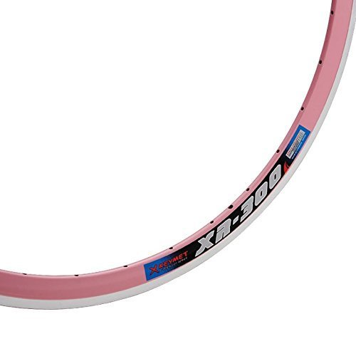 X KEYMET エックスキーメット XR-300 700C 32H Clincher Rim クリンチャーリム (Pink)