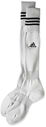 (アディダス) adidas サッカーウェア 3ストライプ ゲームソックス TR616 [ユニセックス] W44424 アルミニウム2/ブラック/ブラック 16-18cm