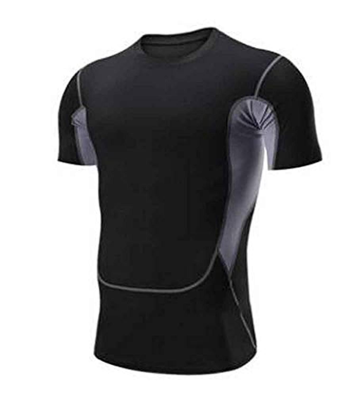 メンズランニングエクササイズ用Tシャツ[A]