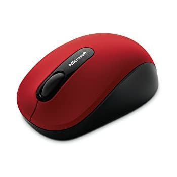 マイクロソフト マウス Bluetooth対応/ ワイヤレス/小型 ダークレッド  Bluetooth Mobile Mouse 3600 PN7-00017