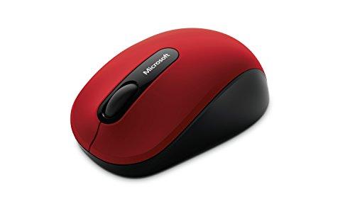 マイクロソフト PN7-00017(ダークレッド) Bluetooth BlueTrack方式マウス 3ボタン