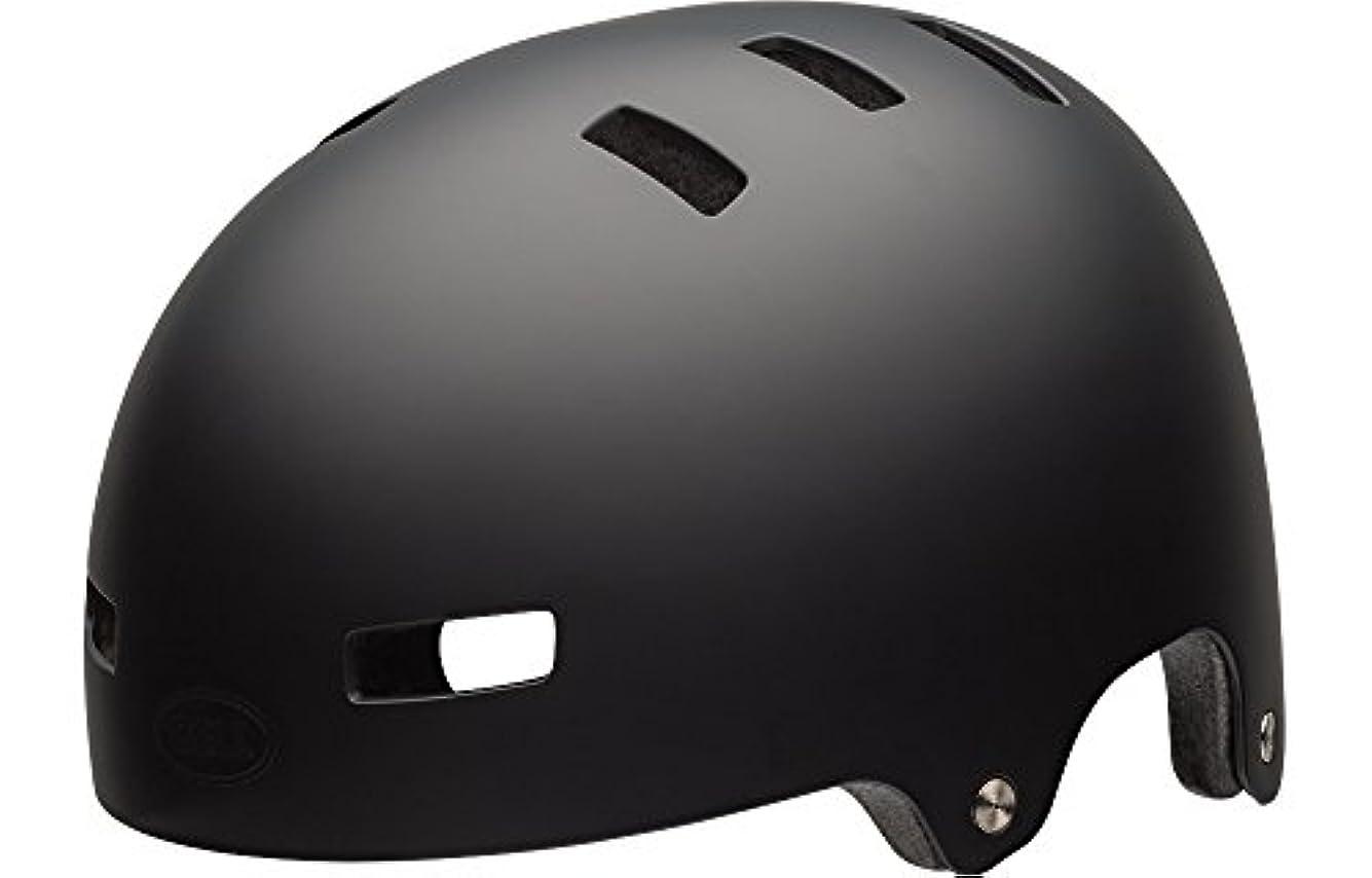 振りかけるペダル光のBELL(ベル) ヘルメット ローカル マットブラック Lサイズ 2019年継続モデル