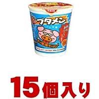 おやつカンパニー ブタメン タン塩味ラーメンカップ 15個入 (1ケース)