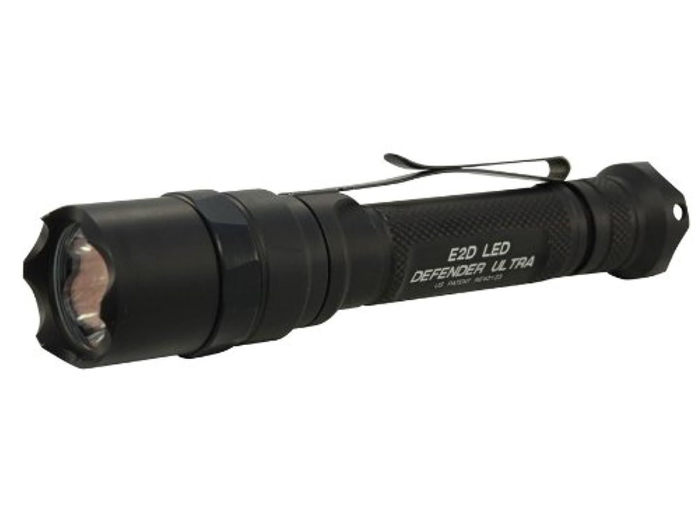 肌親指根絶するSUREFIRE 【2013 最新】 E2DL ディフェンダー ウルトラ 600ルーメン E2DLU-A-BK Defender Ultra シュアファイア Dual-Output LED E2D IMPORT