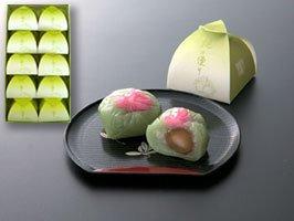愛媛県稚児皐月桃使用 桃の便り(10個入)オリジナル商品和菓子桃の贈り物