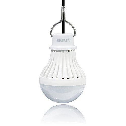 WIBERTA USB LEDライト 電球色 5W 緊急ライト アウトドアライト ON/OFFスイッ...