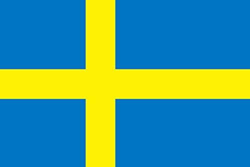 世界の国旗 スウェーデン 国旗 [70×105cm 高級テトロン製]