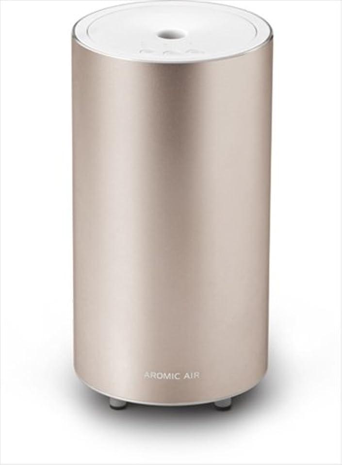 提供されたリネン連鎖AROMIC AIR(アロミック?エアー) AROMASTAR(アロマスター) 気化式アロマディフューザーアロミック?エアー カームゴールド(100mlビン付き)