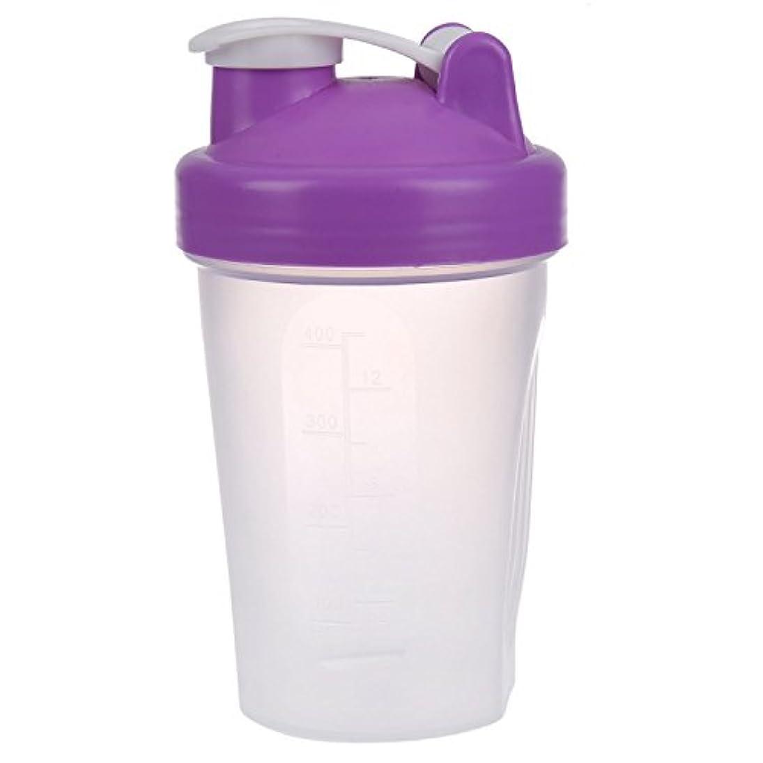 ラフレシアアルノルディ予見する灰TOOGOO スマートシェイク ジムプロテインシェーカー ミキサーカップミキサーボトル 紫