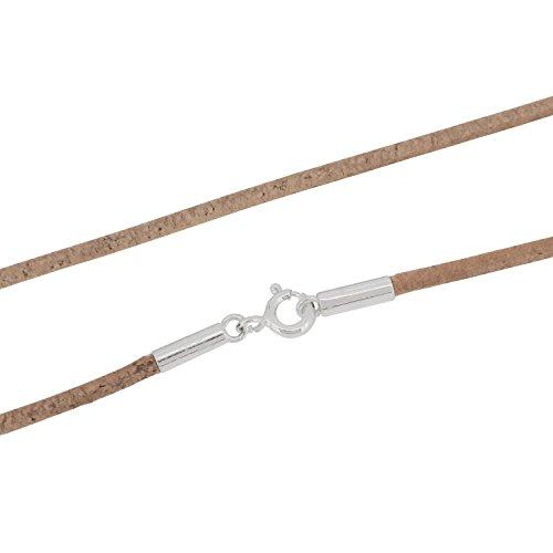 レザーチョーカー 牛革紐 ネックレス シルバー925 幅2.0mm~3.0mm 長さ30cm~80cm