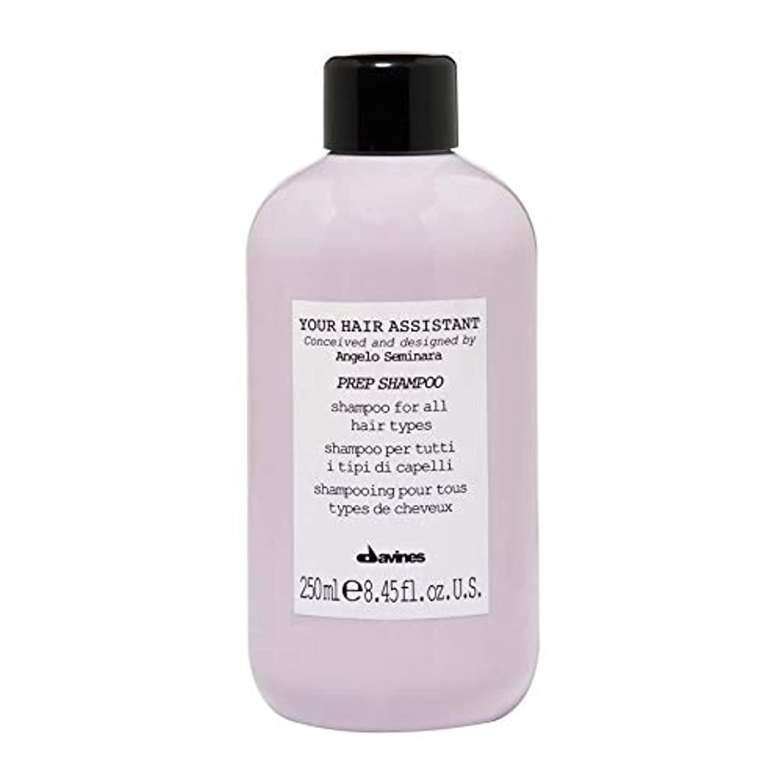 起きろ実業家モスク[Davines ] ダヴィネス準備シャンプー250Ml - Davines Prep Shampoo 250ml [並行輸入品]