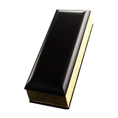 京仏壇はやし 過去帳 唐木( 黒檀 ) 6寸 日付入り ◆縦 約18cm 横 約7cm 厚み 約2.5cm
