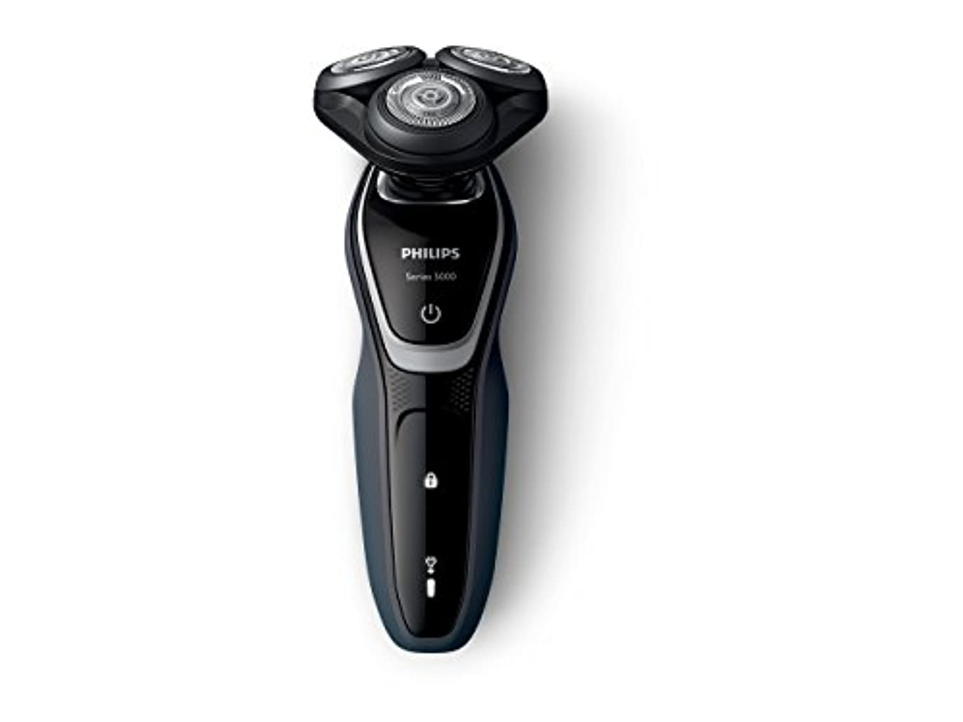スライムサンダース険しいフィリップス 5000シリーズ メンズ 電気シェーバー 27枚刃 回転式 お風呂剃り & 丸洗い可 トリマー付 S5211/12