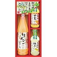 飛騨高山ファクトリー 自然の恵み 100%ジュース・ご当地スカッシュ C8250080 【まとめ 10セット】