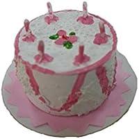 ミニチュア ドールハウス クリスマス X29 ケーキ(ピンク)