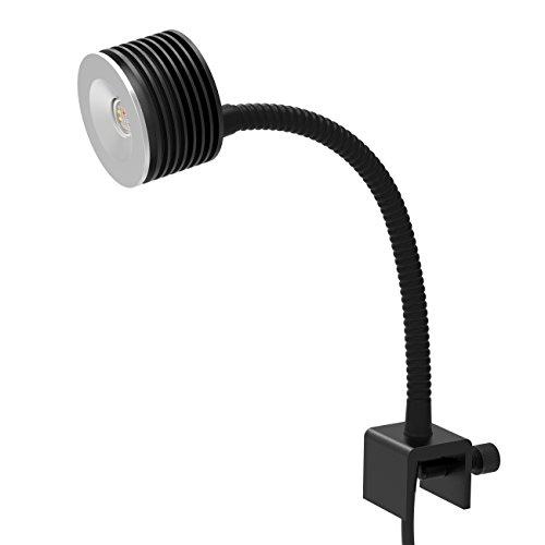 アクアリウム ライト LED Asta 20 小型水槽 4チャンネル調光 サンゴ 水槽用 照明 リモコン付き 観賞魚飼育 グースネック式(海水)