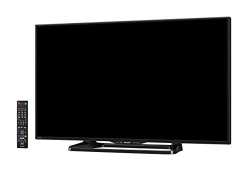 シャープ 40V型 フルハイビジョン 液晶 テレビ AQUOS LC-40W35-B 外付HDD対応(裏番組録画) Wi-Fi内蔵 ブラック