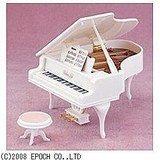 シルバニアファミリー 復刻 グランドピアノ(ホワイト)