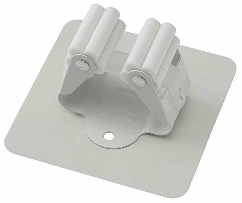 特殊ジェル 粘着 で 壁 傷つけない 何度も貼れる ローラー フック ホワイト F9124