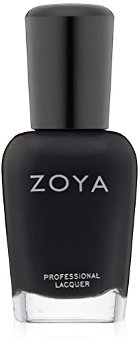 吐くメッシュ基礎ZOYA ゾーヤ ZP771 WILLA ウィラ 15ml 2014 Winter/Holiday Wishes Collection マットブラック 爪にやさしいネイルラッカーマニキュア