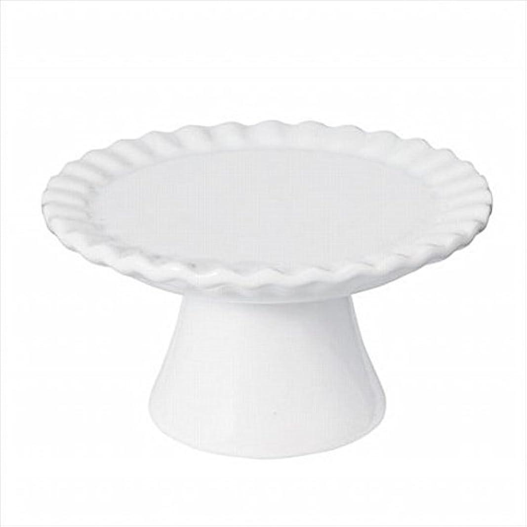 マオリ噴火水星sweets candle(スイーツキャンドル) ドルチェコンポート 「 ホワイト 」 キャンドル 95x95x52mm (J5480000W)