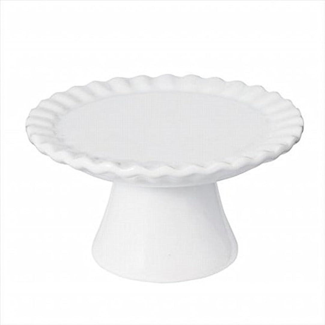 ワット症状禁輸sweets candle(スイーツキャンドル) ドルチェコンポート 「 ホワイト 」 キャンドル 95x95x52mm (J5480000W)
