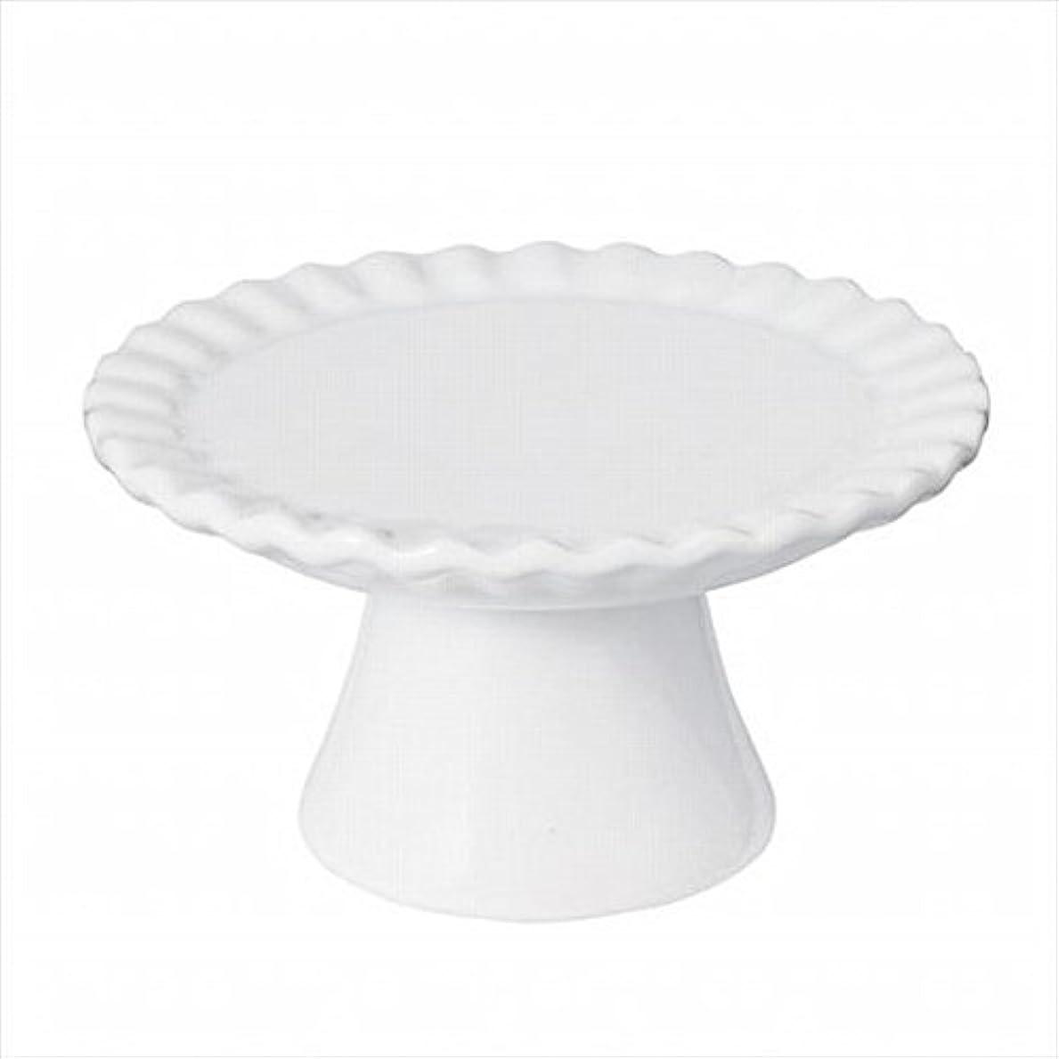 溶かすスケルトンクラウドsweets candle(スイーツキャンドル) ドルチェコンポート 「 ホワイト 」 キャンドル 95x95x52mm (J5480000W)