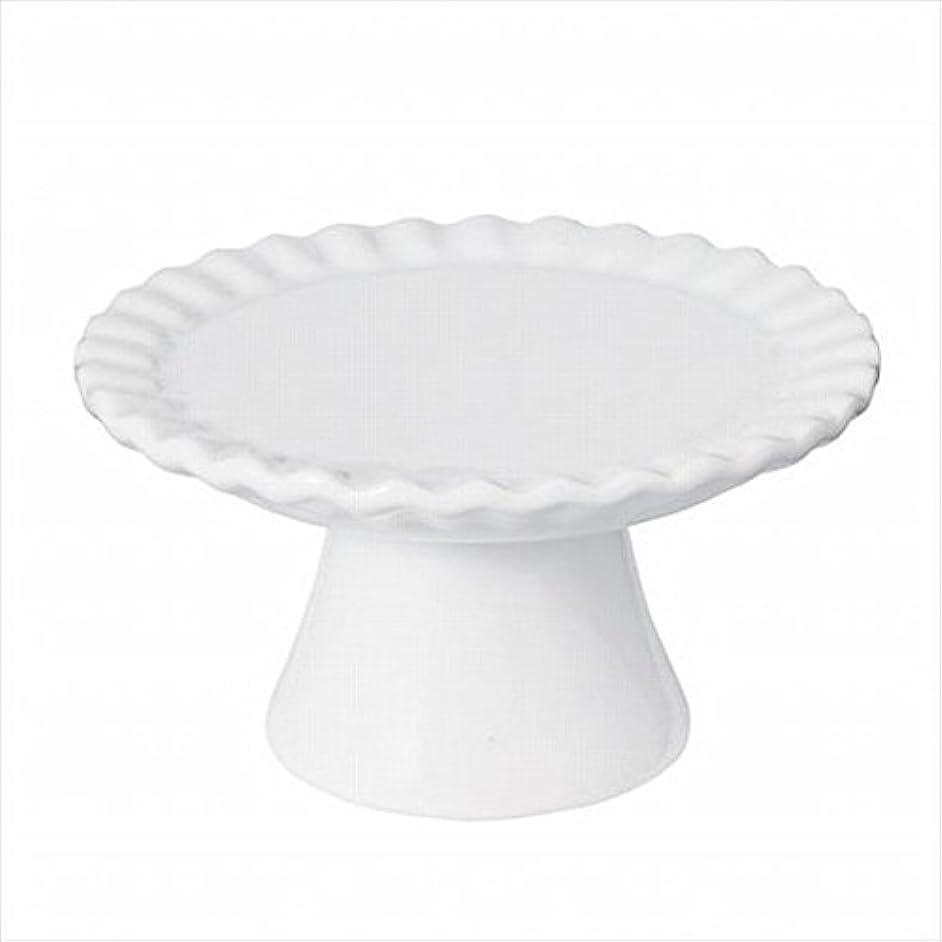 酸度八百屋直径sweets candle(スイーツキャンドル) ドルチェコンポート 「 ホワイト 」 キャンドル 95x95x52mm (J5480000W)