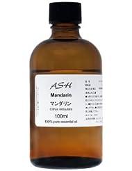 ASH マンダリン エッセンシャルオイル 100ml AEAJ表示基準適合認定精油