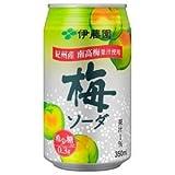 伊藤園 梅ソーダ 350ml缶(24本入×2ケース)