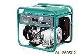 デンヨー・エンジン発電機AC100V /26A(2600W)/60Hz/GA2606U2