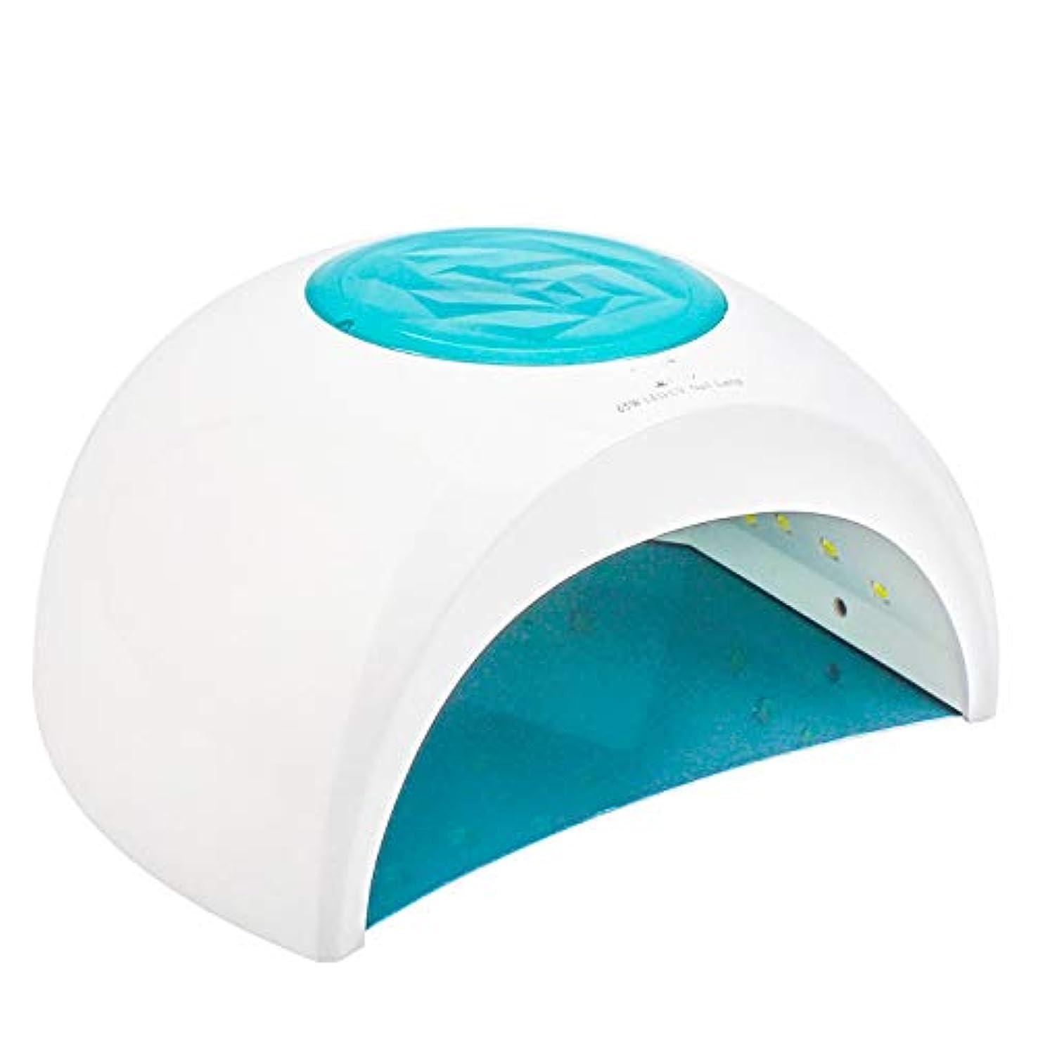 長さ逆に折り目ネイルドライヤー-65Wハイパワー33ランプビーズLED UVインテリジェント誘導デュアル光源ネイル光線療法機