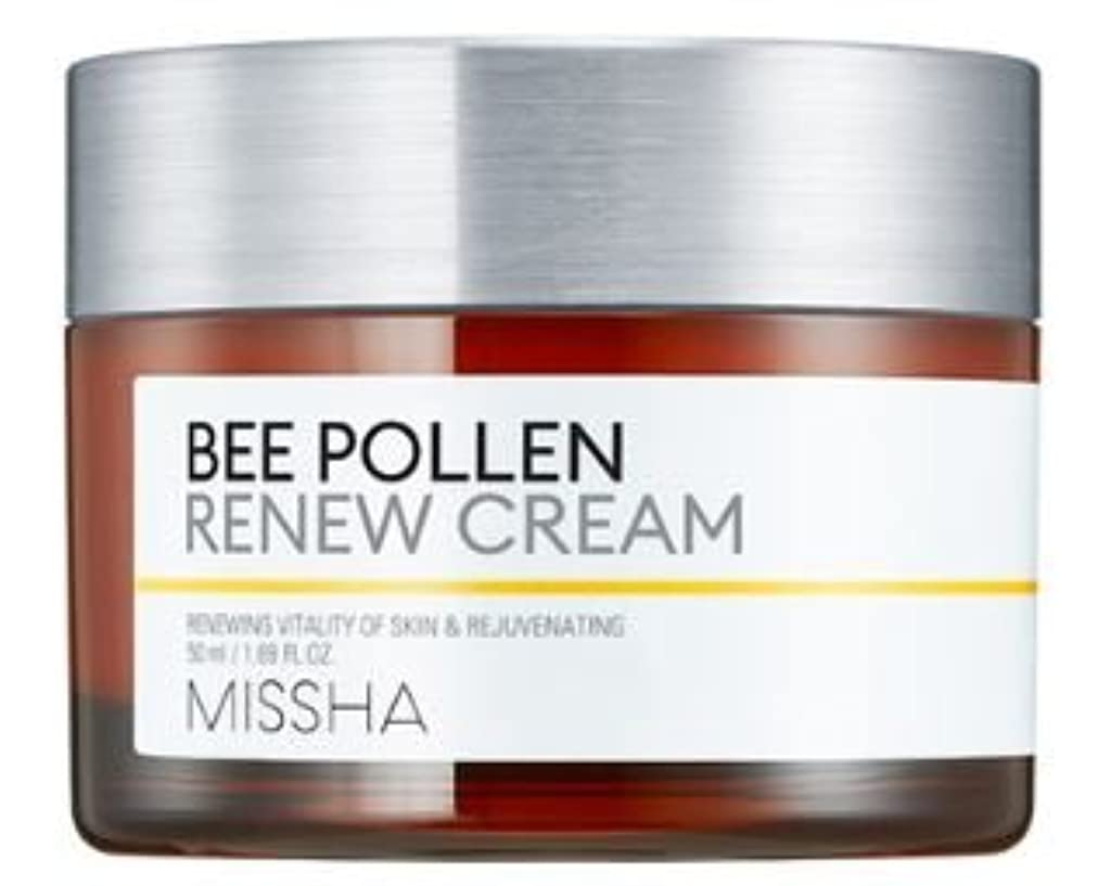 アクセスできない即席真っ逆さま[Missha] Bee Pollen Renew Cream 50ml/[ミシャ] ビーポレンリニュークリーム50ml [並行輸入品]