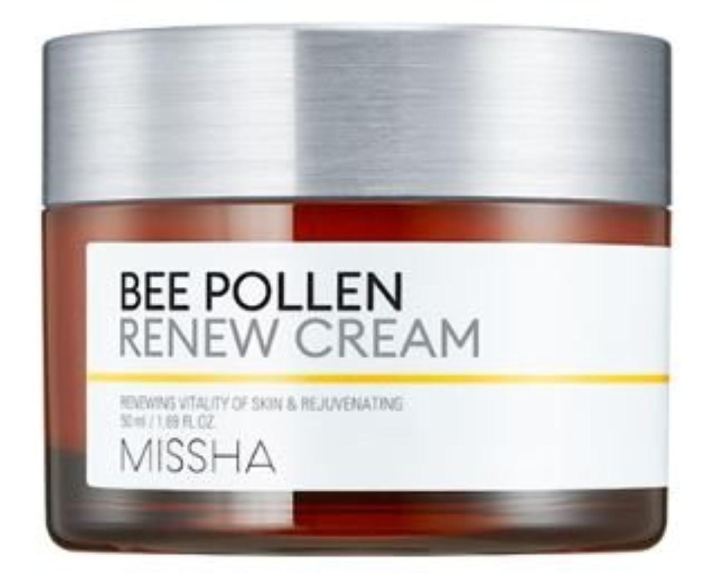 逆鼻リボン[Missha] Bee Pollen Renew Cream 50ml/[ミシャ] ビーポレンリニュークリーム50ml [並行輸入品]