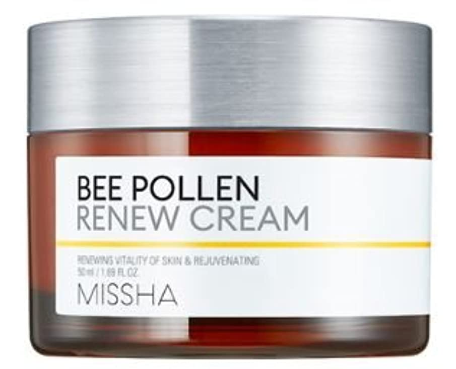 こんにちはレビュアーる[Missha] Bee Pollen Renew Cream 50ml/[ミシャ] ビーポレンリニュークリーム50ml [並行輸入品]
