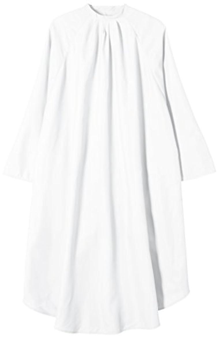 メーター寄付する軸TBG 袖付カットクロス CPR004S ホワイト