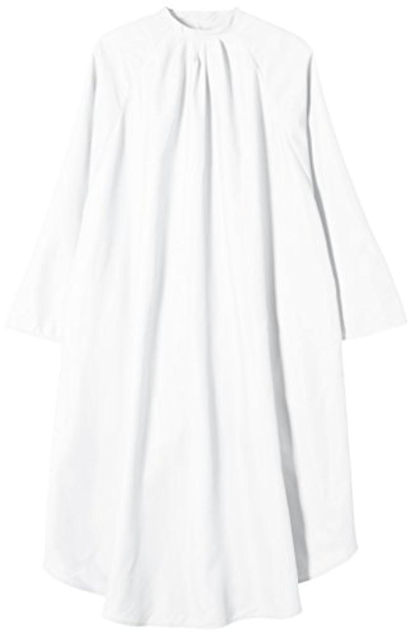 懐怒りコントラストTBG 袖付カットクロス CPR004S ホワイト