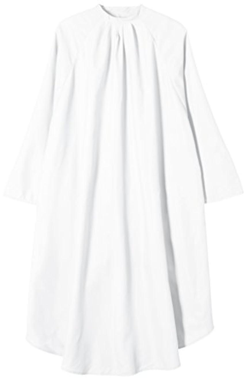 高さ申し立てられたカールTBG 袖付カットクロス CPR004S ホワイト