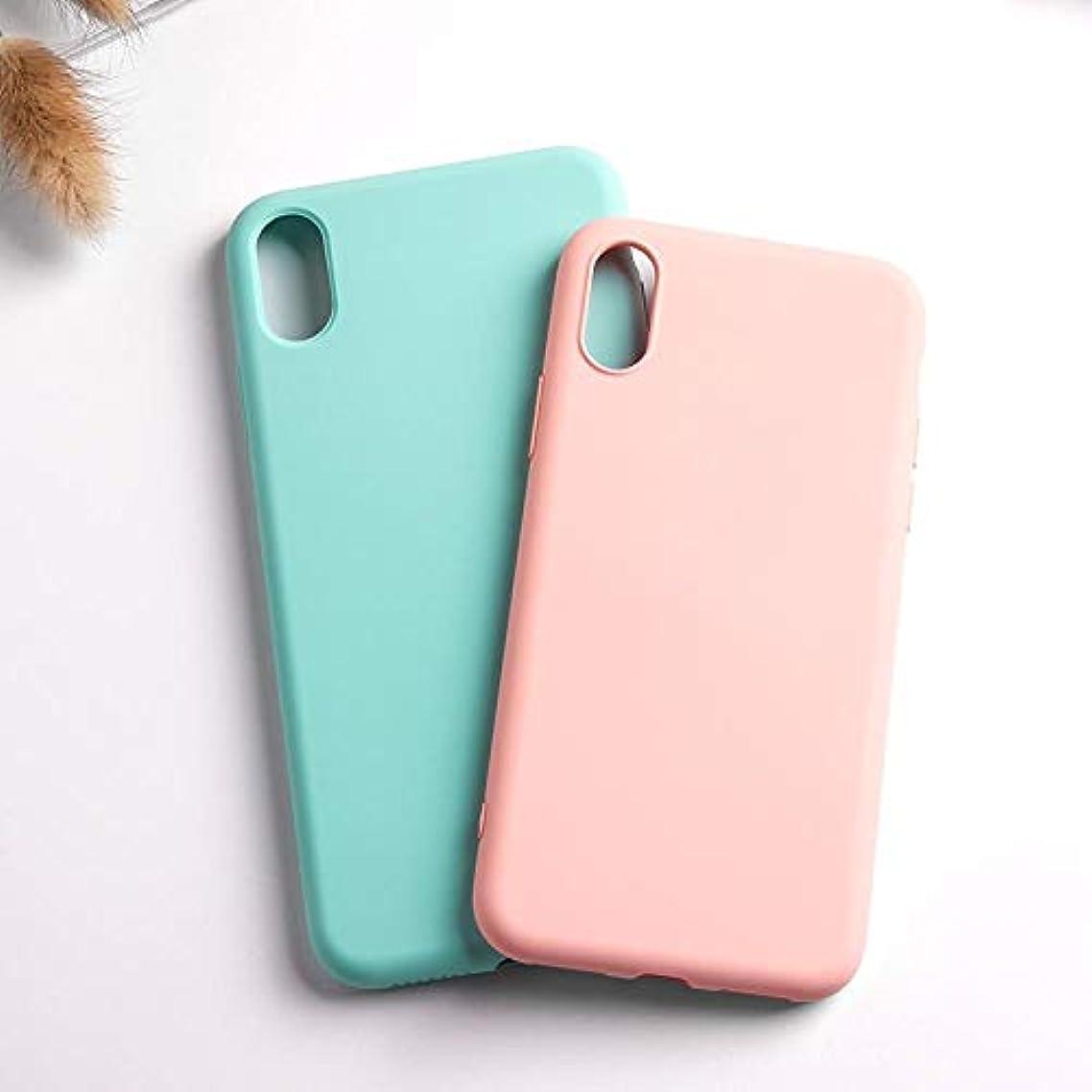 無知五十を除くFUKUAKON スマホケース 携帯ケース 携帯カバー 可愛いケース For For iphone XR X XS Max 6 6S 7 8 Plus ソフトTPU 可愛い 携帯電話アクセサリーファッション (Color : 青, Size : For iPhone 6 Plus)