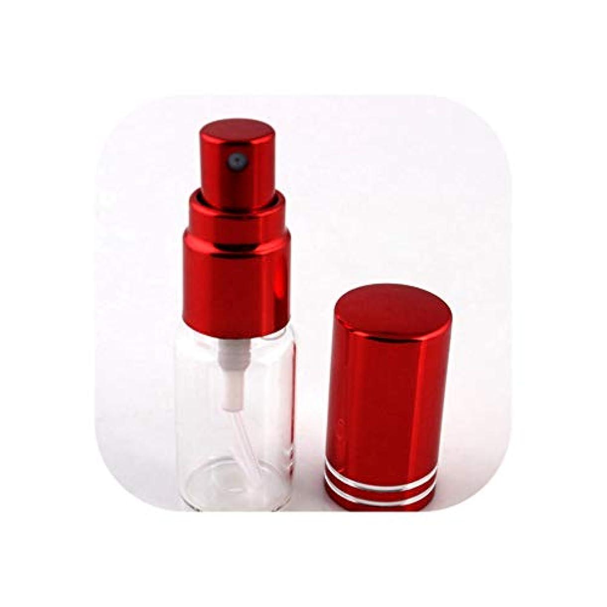 ハント独立してコーヒー旅行のためのアトマイザー空の化粧品容器でスプレー、RD-Lとの1pcsは5ミリリットル/ 10MLポータブルカラフルなガラスの詰め替え香水瓶